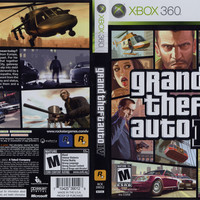 Grand Theft Auto IV - Xbox 360 (Game Only)
