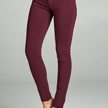 PLUM PLUS SIZE PONTE KNIT JEAN
