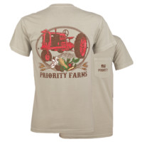 Southern Couture Priority Farms Country Pocket Unisex T-Shirt