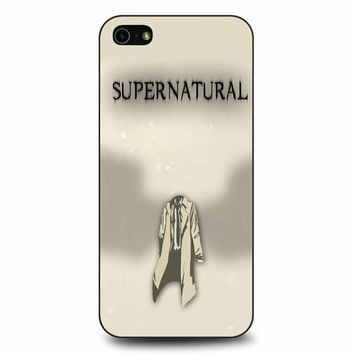 Supernatural - Castiel iPhone 5/5s/SE Case