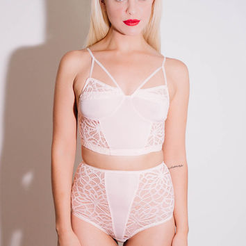 Lulu Lace Set in Blush