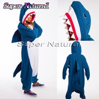 Adult Winter Monokuma Bear Blue Shark Unicorn Pajamas Sloth Lemur Animal Kiguruma Onesuits Cosplay Costume
