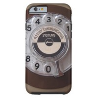 Funny Vintage Rotary Dial Phone iPhone 6 Case