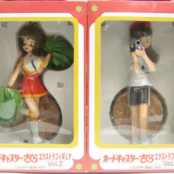 Sega Clamp Card Captor Sakura Extra Collection Vol 2 Pvc Figure Set