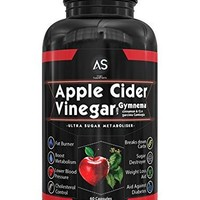 Apple Cider Vinegar Pills for Weight loss - Natural Detox Remedy Includes Gymnema,...