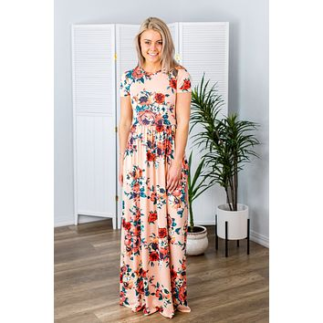 Golden Hour Maxi Dress(S-3X)