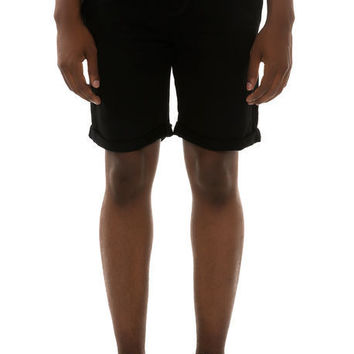 Duho Logo Sweatshorts in Black