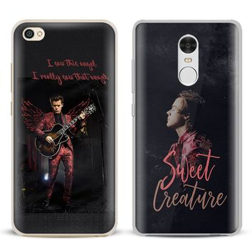 Harry Styles Coque Phone Case Shell Cover For Xiaomi Redmi Note 4 4X 5A 6 6A PRO Mi 8 5 5S PLUS Max A1 Note 2 3