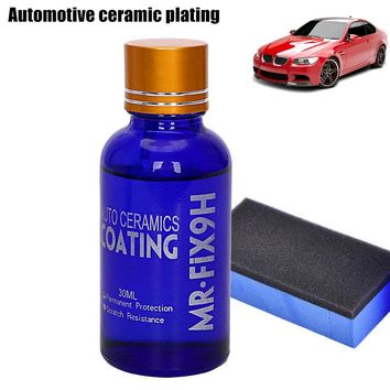 New Portable 30ML High Gloss Ceramic Car Coating Kit Anti-Scratch Exterior Care Paint Sealant 9H Hardness DXY88