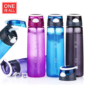700ML Water Bottle Plastic Cup Sport Water Bottles My Bike Bottle Tritan Bicycle Cycling Sports Tumbler With Straw Brand Kettle
