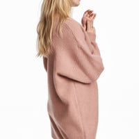 Knitted jumper - Powder pink - Ladies | H&M GB