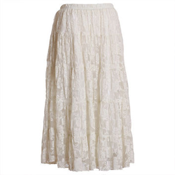 breathless escape lace skirt