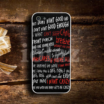 hunter hayes quote Design mobile Phone case