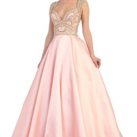 Long Formal Prom Dress Evening Gown