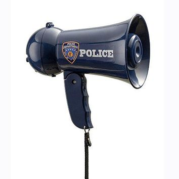 Pretend Play Police Officer's Megaphone with Siren Sound For Kids