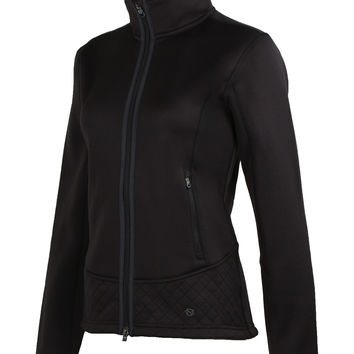 Noble Outfitters Premier Fleece Black Jacket for Women