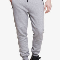 Heather Gray Double Knit Jogger Pant from EXPRESS