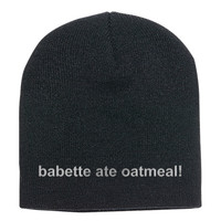 Gilmore Girls - Babette Ate Oatmeal Knit Beanie