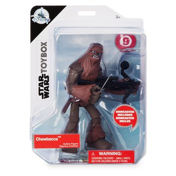 Disney Star Wars Chewbacca Action Figure Toybox New with Box
