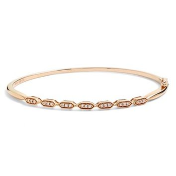 Women's Bony Levy Diamond Station Bangle (Limited Edition) (Nordstrom Exclusive)