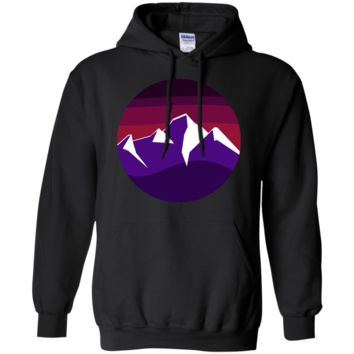 mountain winter twilight sweatshirt T-Shirt