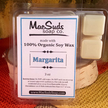 MARGARITA Soy Wax Melts, Soy Wax Tarts, Scented Wax Melts