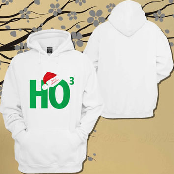 Ho Ho Ho Santa Ugly Christmas Hoodie.Sweater.Jumper - Size Unisex Hoodie - For Women,Men