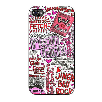 mean girls collage iPhone 4 4s 5 5s 5c 6 6s plus cases
