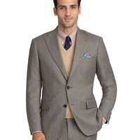 Regent Fit Tic 1818 Suit - Brooks Brothers