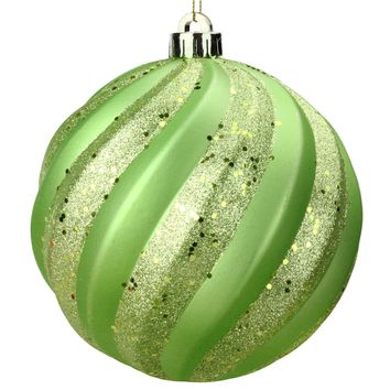 Set of 3 Lighted Multi-Color Mercury Glass Finish Ribbed Ball Christmas Ornaments Clear Lights