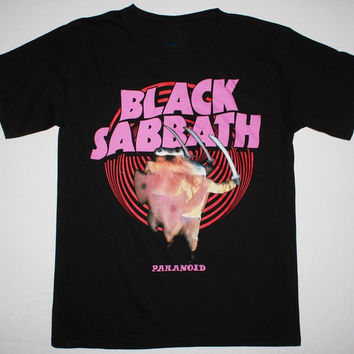 Black Sabbath Paranoid T-Shirts  Sizes  S-3XL