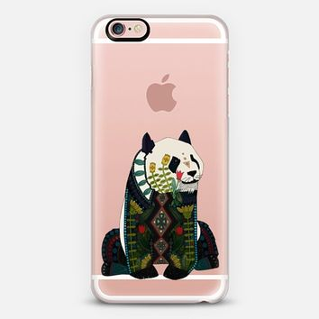 panda transparent iPhone 6s case by Sharon Turner | Casetify