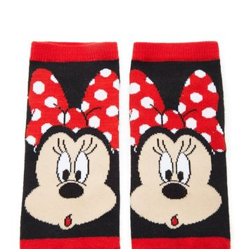 Minnie Mouse Face Socks