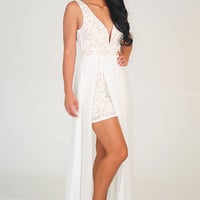 ARK&CO: Among The Clouds Dress: White