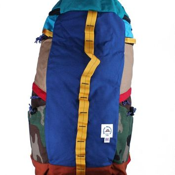 Epperson Mountaineering Rock Pack Iris Suede Blue Backpack