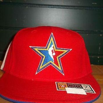 LMFOK8 2004 NBA ALL-STAR GAME (REEBOK) FITTED HAT (YOU PICK ONE)