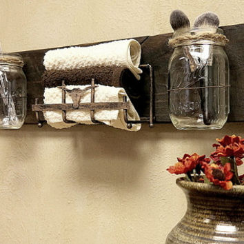 Rustic Wall Decor For Bathroom rustic country bathroom decor 25+ best rustic bathroom decor ideas