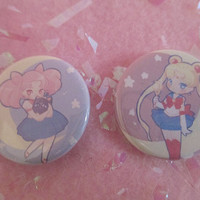 Sailor Moon {1.25in buttons}