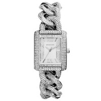 Mini Emery Pavé Chain-Link Watch | Michael Kors
