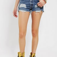 Urban Renewal High/Low Denim Short