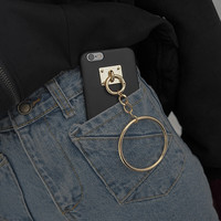 Large Ring Key Chain Phone Case