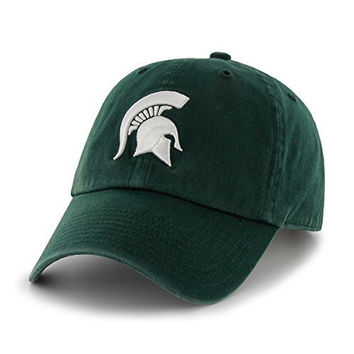NCAA Michigan State Spartans '47 Clean Up Adjustable Hat, Dark Green, One Size