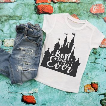 Best Day Ever Disney Kids Graphic Tee