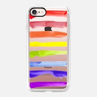 Rainbow Pride iPhone 7 Case by Allison Reich | Casetify