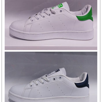Unisex Men & Women Casual Sport Print Adidas Stan Smith Shoes [7940253447]