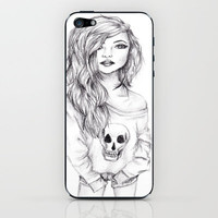 Sketch iPhone & iPod Skin by Krista Rae | Society6