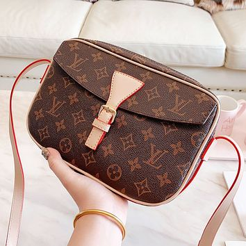 LV Louis Vuitton Fashion Women Leather Satchel Crossbody Shoulder Bag