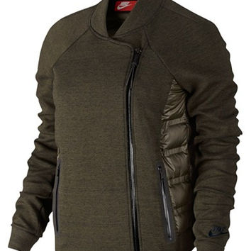 Nike Aeroloft Tech Fleece Moto Jacket