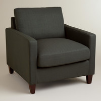 Charcoal Abbott Chair - World Market
