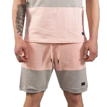 King Apparel - Luxe Summer Trackset - Bottom - Grey